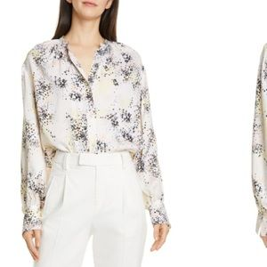 NEW Equipment Causette Blouse Silk Floral